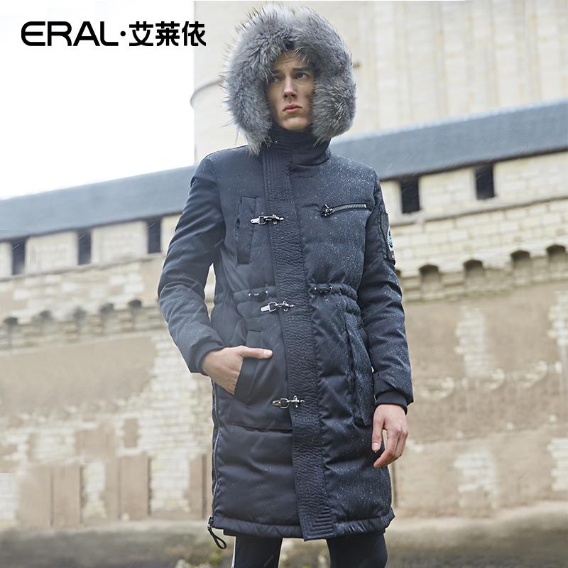 El cuello largo tiempo ZHANGSHUAI ojo Zhang Shuai párrafo original del diseñador de ropa de abrigo masculino independiente