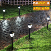Railings, lights, outdoor solar lawn, light lamp, courtyard lamp, Les Loges Du Park Hotel, decorative road lighting waterproof