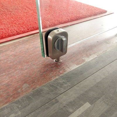 Open door glass door bolt, toughened glass door, double door bolt lock bolt, bathroom toilet lock