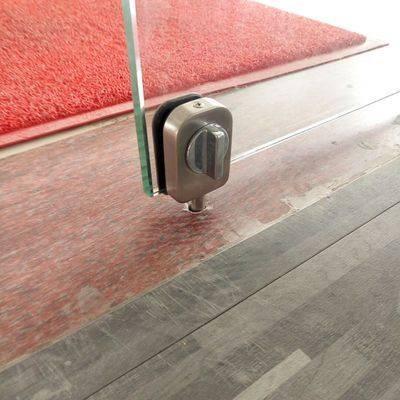 fri åben hul glas dør bolt hærdet glas dør dobbelt lås lås bolt at låse toilettet