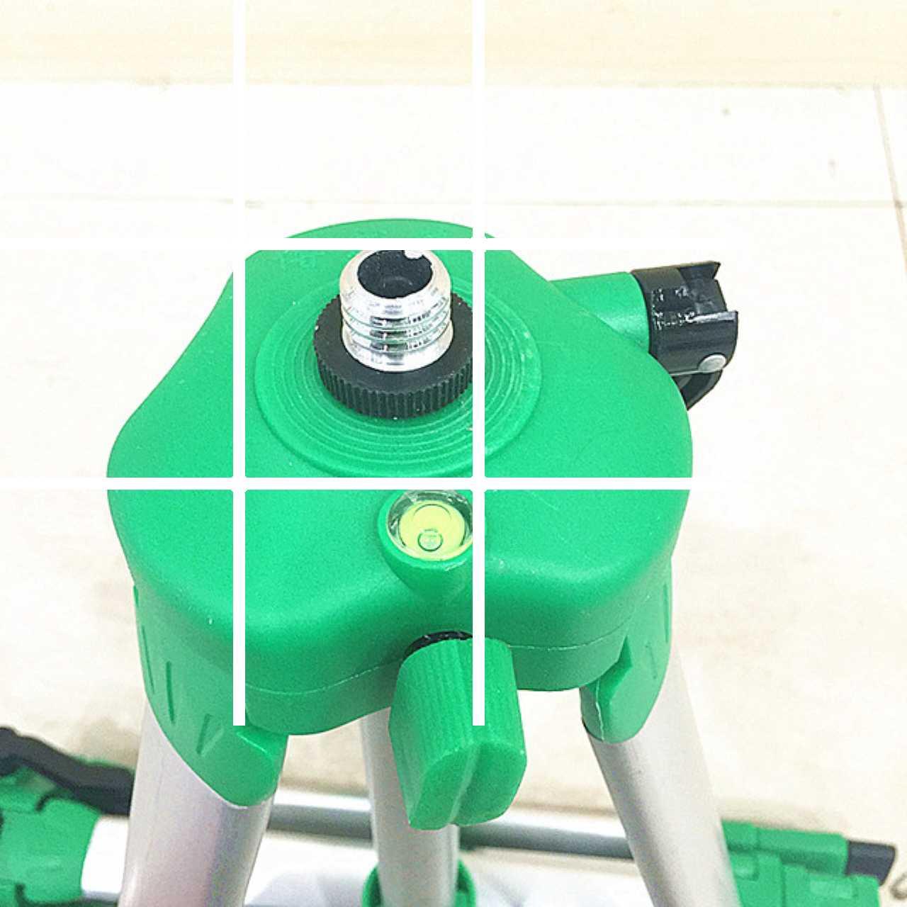 เครื่องเลเซอร์ระดับสามขาตั้งกล้องอินฟราเรดเครื่องวัดอุปกรณ์นั่งร้านขาตั้งอลูมิเนียมลวดสนามเล่นระดับ