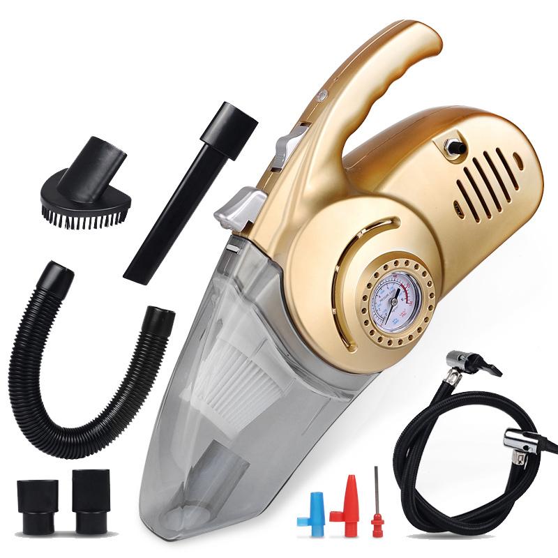 превозно средство, прахосмукачка пневматична помпа в колата на автомобил с домакински сухо и мокро голяма сила на четири малки много работа