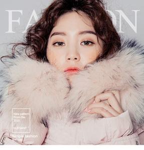 2016新款韩版大毛领中长款羽绒棉服女大码加厚6083