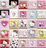 Hellokitty creative personality switch stickers stickers Home Furnishing stickers decorative stickers stickers decals switch socket