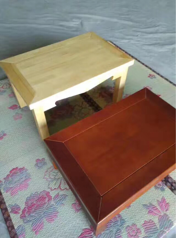 The new Chinese furniture and its static table bed table explosion arhat tatami green pine shipping