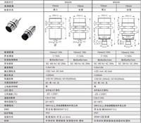 M30 high temperature analog resistance high voltage capacitive proximity switch photoelectric fiber sensor