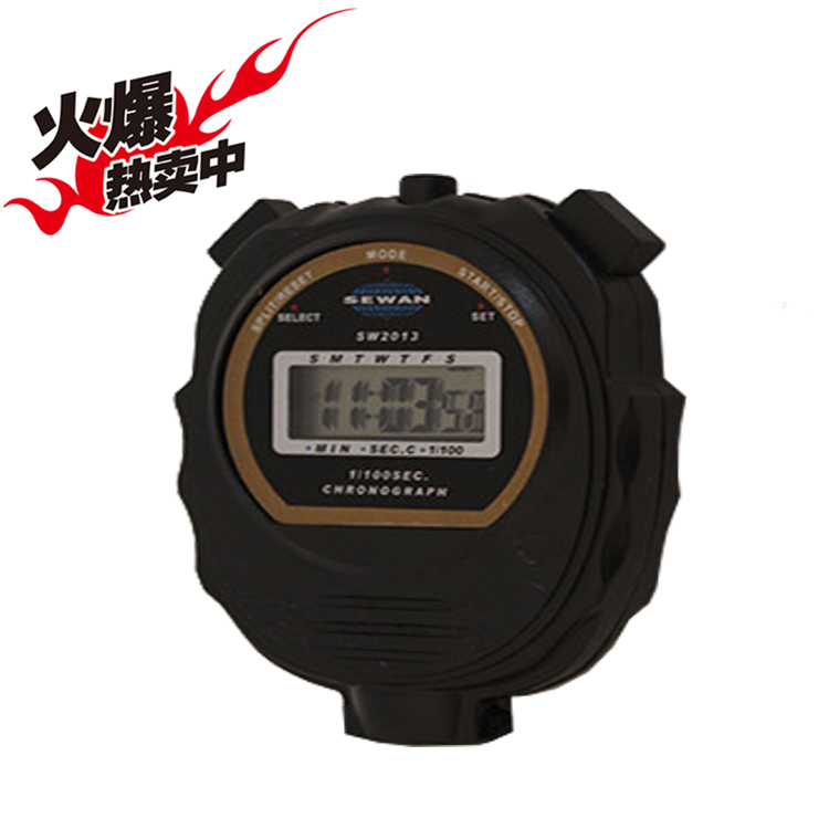 The genuine SW2013 electronic stopwatch stopwatch stopwatch timer shipping track