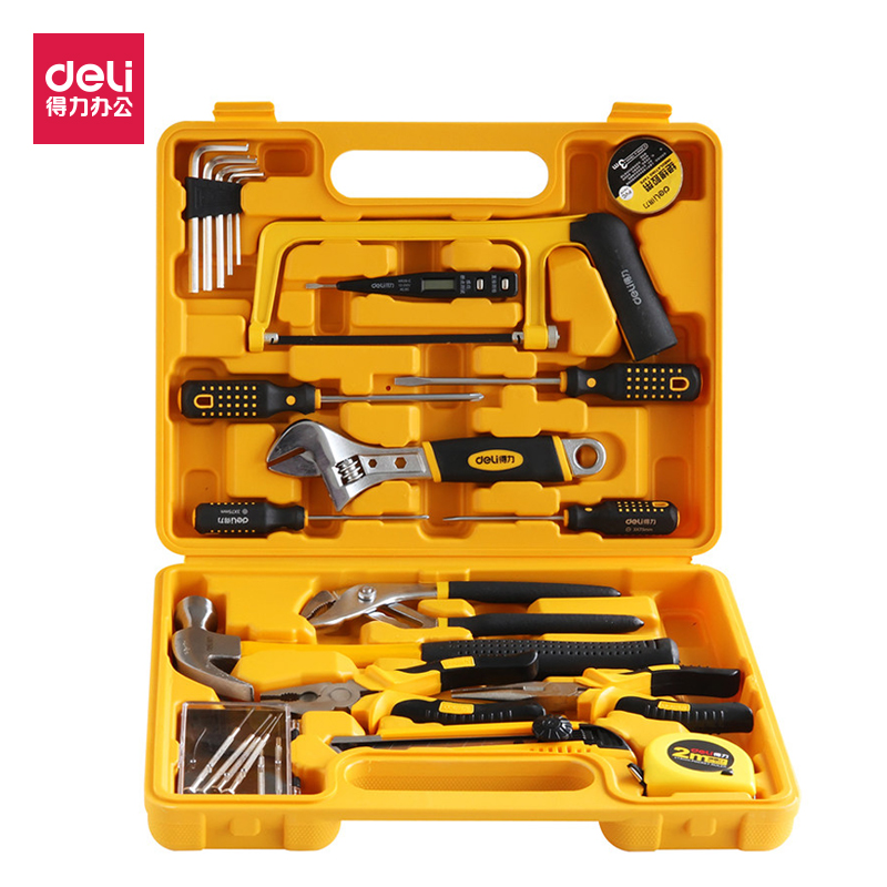 Tool set box, household woodworking electrician maintenance, multi-function manual combination screwdriver hardware box