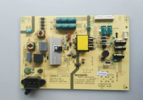 Original SKYWORTH 43E300043 inch LCD TV power board, high voltage backlight driver motherboard boost circuit