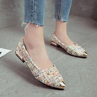 4  2019新款春季短靴女韩版低跟圆头马丁靴平底百搭舒适女鞋