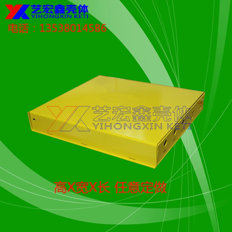 工場の板金加工ケースの殻をラック加工穴ステンレス板金金属加工