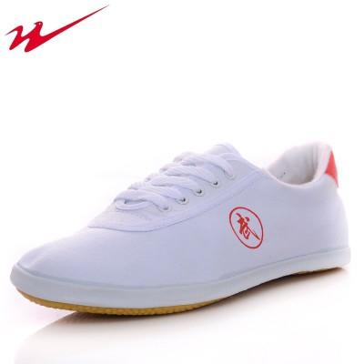 武术鞋太极鞋健身鞋帆布鞋男鞋女鞋儿童少年练功鞋牛筋底软底