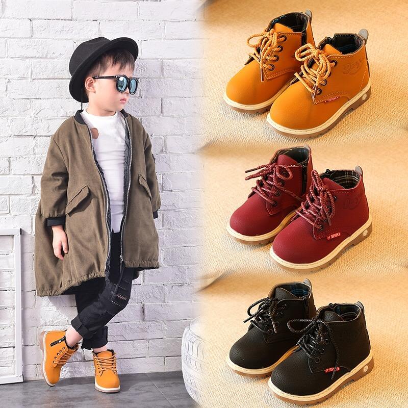 天天特价 儿童马丁靴