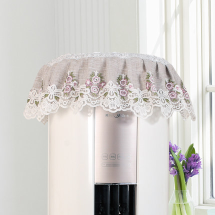 Cylindrical Guiji air conditioning cover round dust cover vertical boot does not take the living room cabinet beautiful wisdom for GREE Hisense