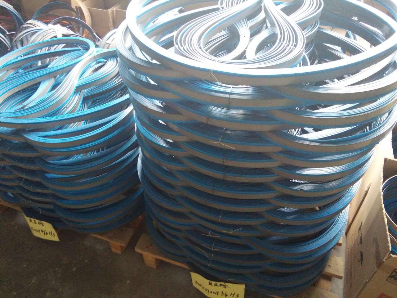 Máquina com Serra de FITA Serra bimetal band saw blades sharp metal cutting band saw blades, fábrica de Venda directa