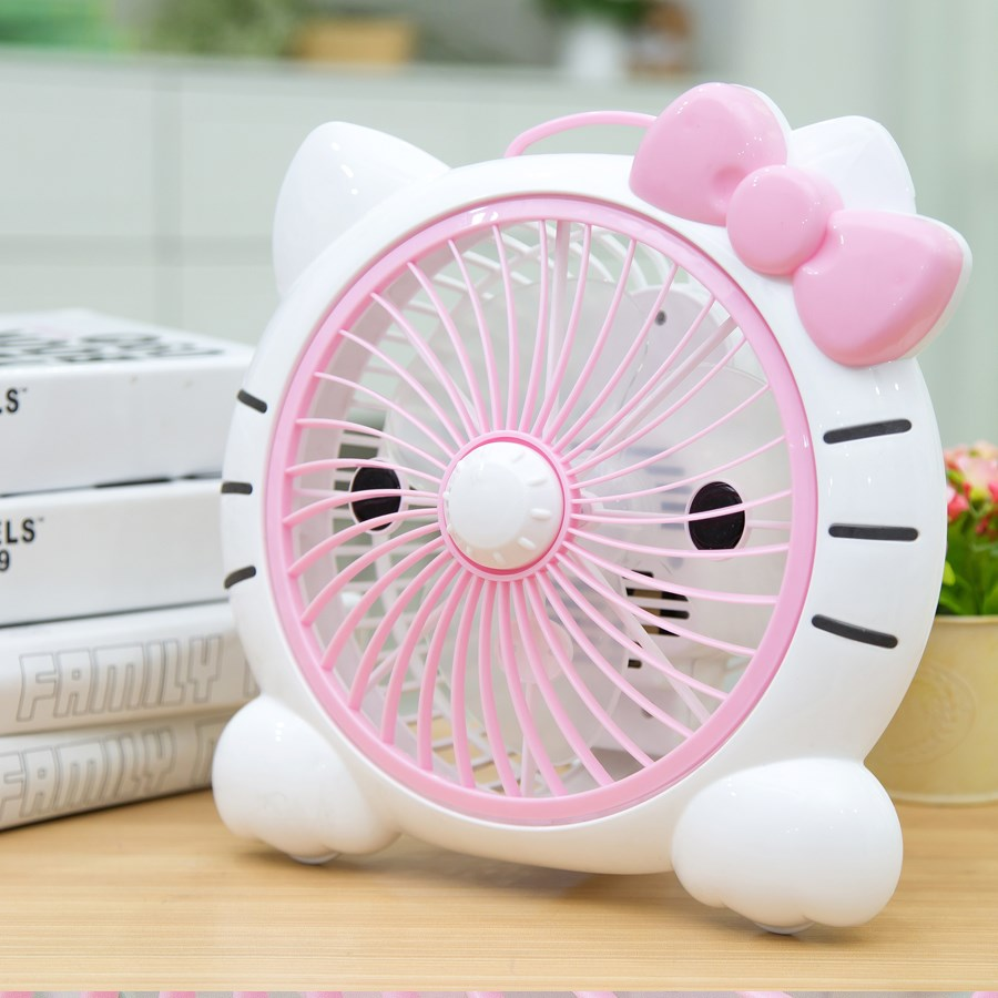 Ventilador de mesa mini - cartoon Casa dormitório pequeno ventilador ventilador de Mesa