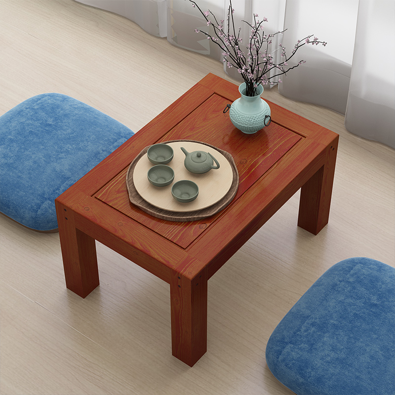 Solid wood table table tatami bed dormitory windows and small table table computer low table shipping platform