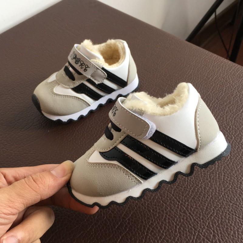 冬款宝宝棉鞋0-1-2岁3男童鞋女婴儿棉鞋保暖鞋加绒软底学步鞋加厚