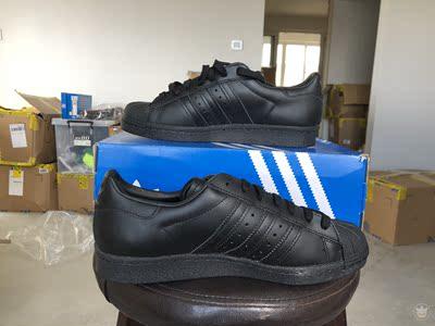 【老伯现货】adidas 三叶草 S79442 男子 黑色 板鞋 运动 休