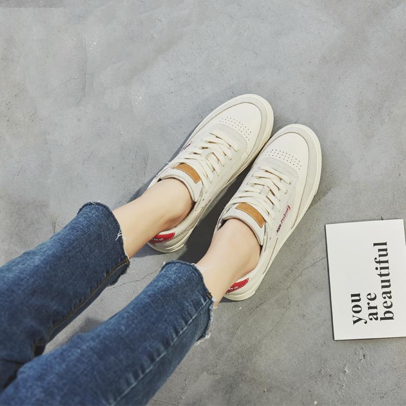 小碼女鞋31 32 33小白鞋女新款秋季34平底鞋學生休閑運動港風板鞋