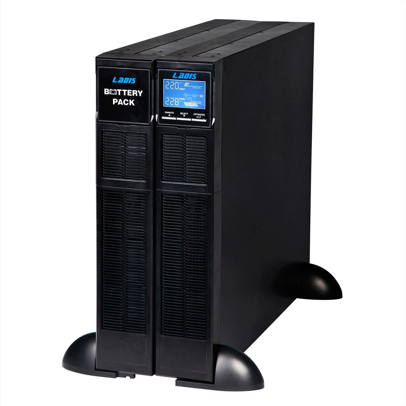 UPS uninterruptible power supply GR2K rack type tower conversion 2KVA1600W delay 10 minutes