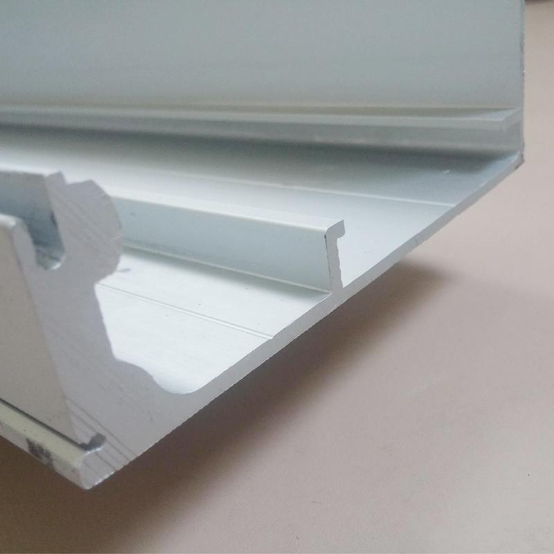 Porta de vidro automático Da porta deslizante ferroviário Liga de alumínio peças de trilho de Guia de movimento via porta elétrica.