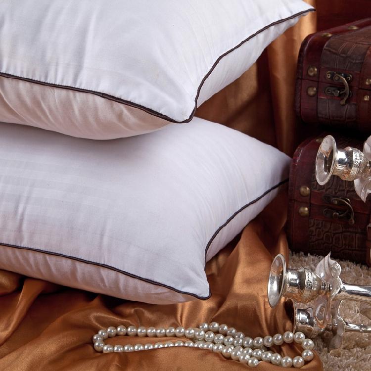 シングル枕芯白無地ホテルペア保健ケツメイシ護頚枕靠垫