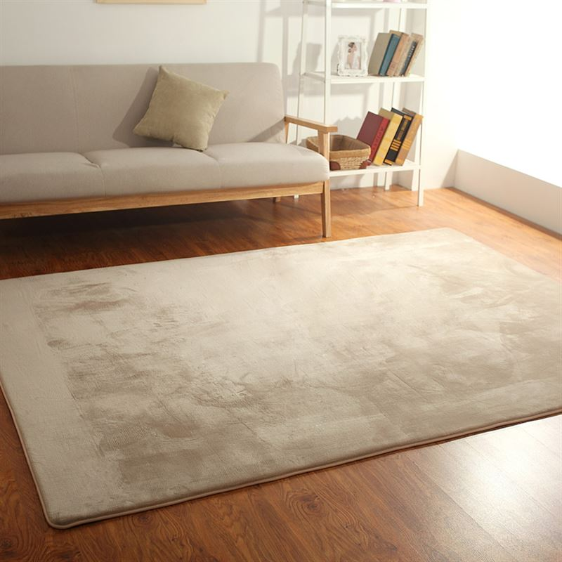 Coral velvet simple European style living room table mats covered with tatami sofa custom bedroom bedside rug