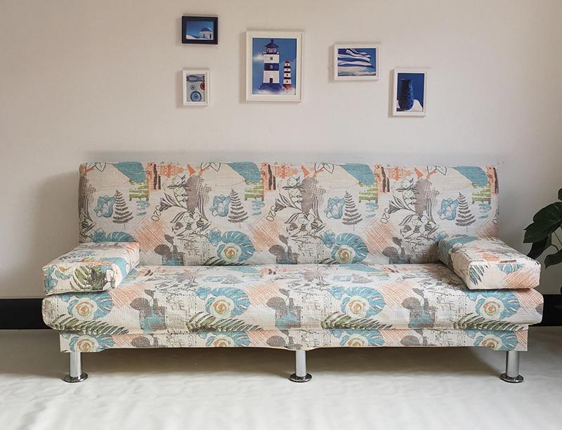 και το μικρό μέγεθος του σαλονιού πτυσσόμενου ύφασμα πολυλειτουργική 1.81.21.5 μέτρα διπλό κρεβάτι - καναπέ