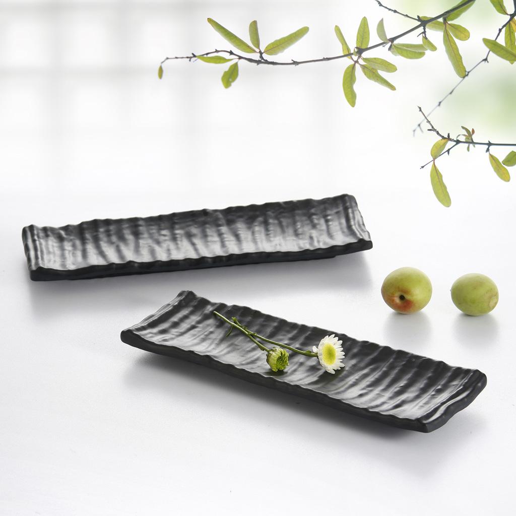 扬格 черный матовый фарфор, как секретаря диск японский нерушимые суши закуски рыба на гриле диск из меламина секретаря диск