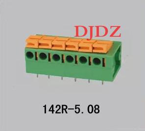kiiresti, ilma - terminal DG142RKF142R kevad - pcb - terminali terminalid