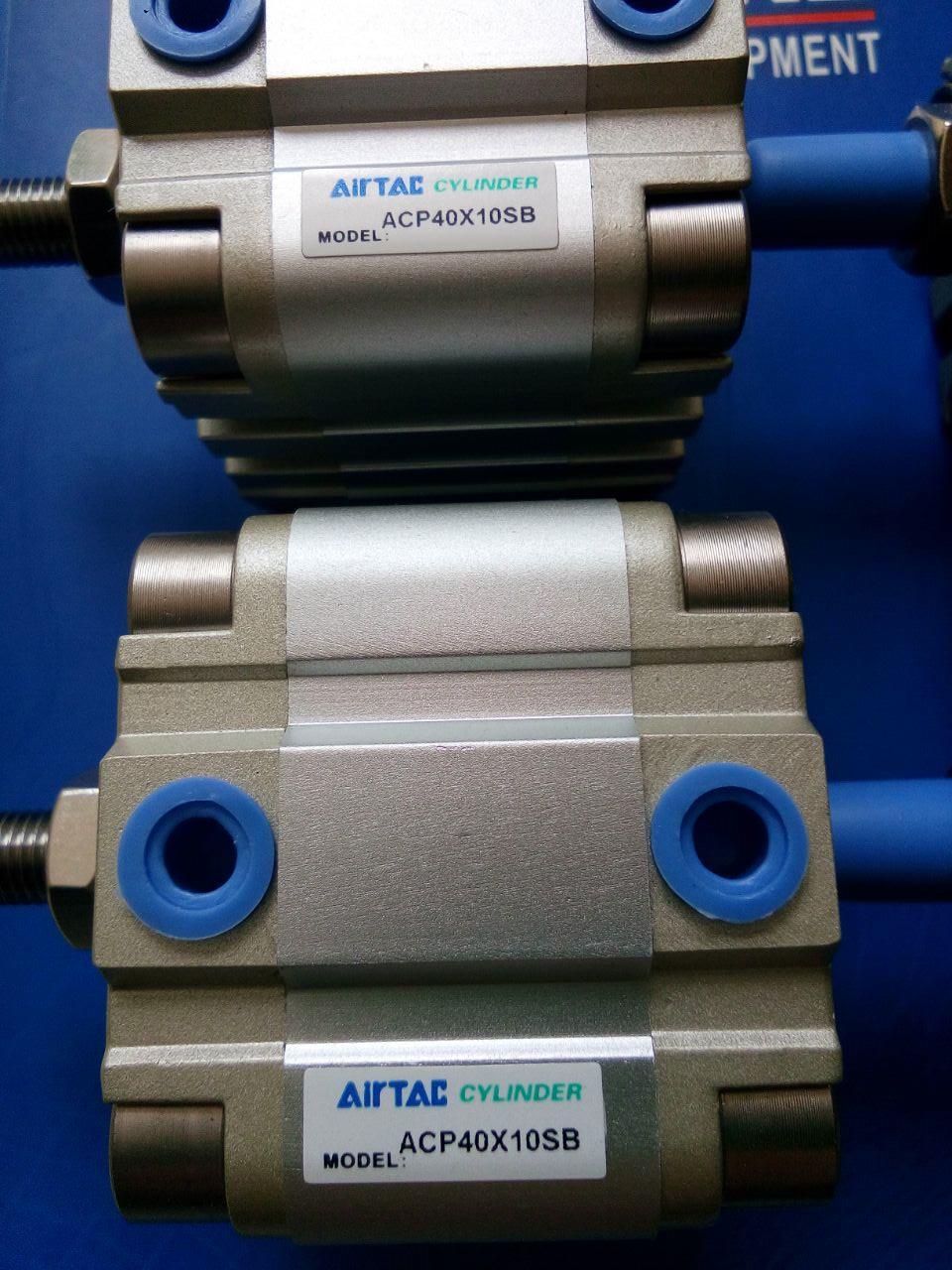 ACP32X5X10X20X30X40X50X60X70X80X90X100X125 sur le cylindre