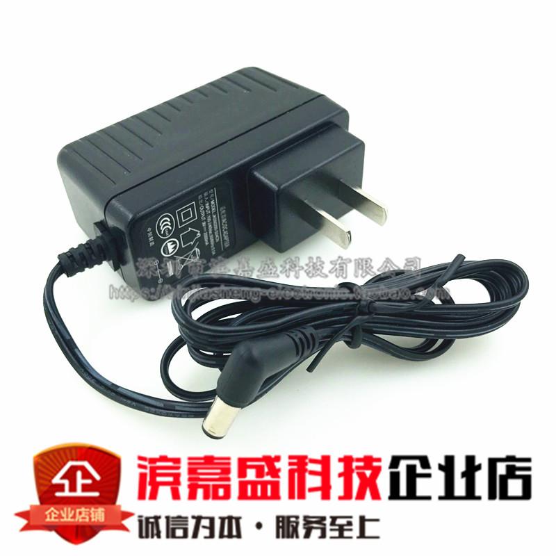Pakje post adapter 9V2A2000MA oplader 9 volt 二安 van conventionele energievoorziening DC005, Jack.