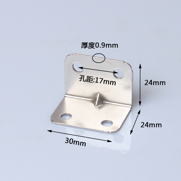 Fixed three yards / foot thick furniture accessories / bed / frame around gusset bed connector corner angle