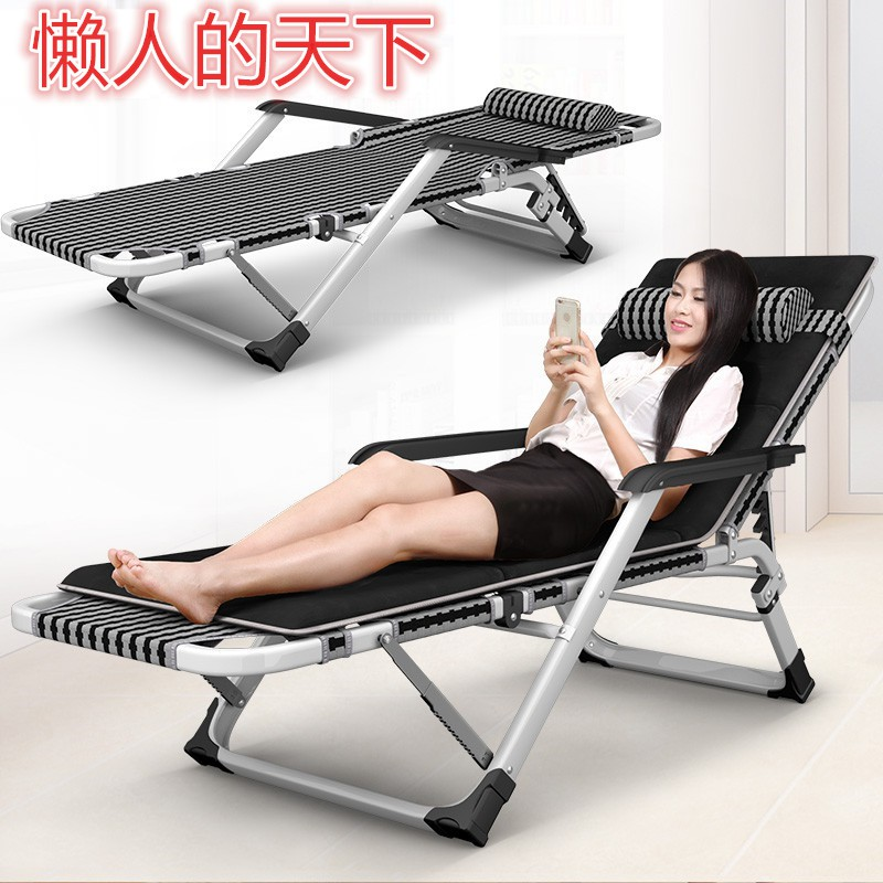 When the office chair nap marching type bed double bed hard folding chair, children accompany the bed Hotel