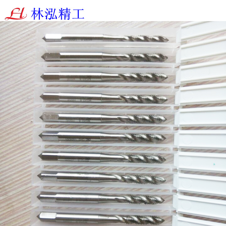 ZG high speed steel spiral tap with cobalt, tapping wire for M1.4M2M3-M16*2 aluminum, iron and copper