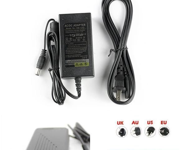 12V2A5A10A35285050led patch lamp with light strip, 12V power adapter, transformer foot A
