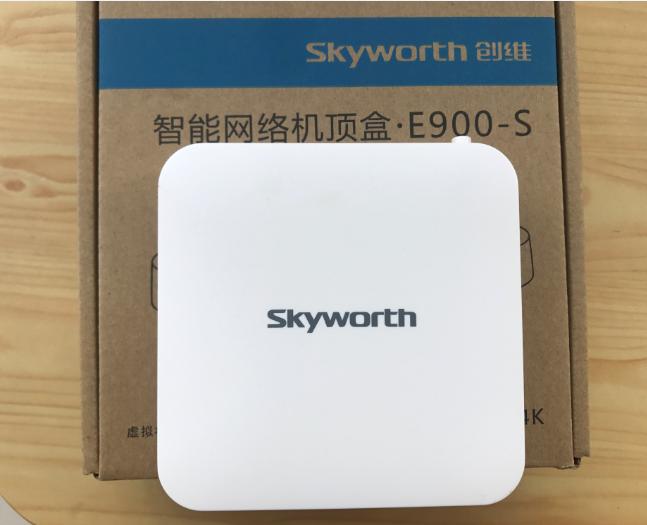 Nieuwe originele skyworth e900-S4K Super HD - intelligente Stb Jiangsu telecommunicatie IPTV ingebouwde van 'n vrouw