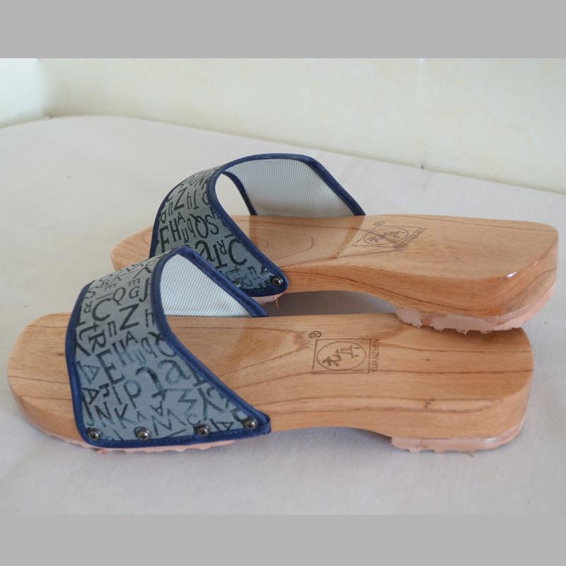 平跟木拖鞋透气日常休