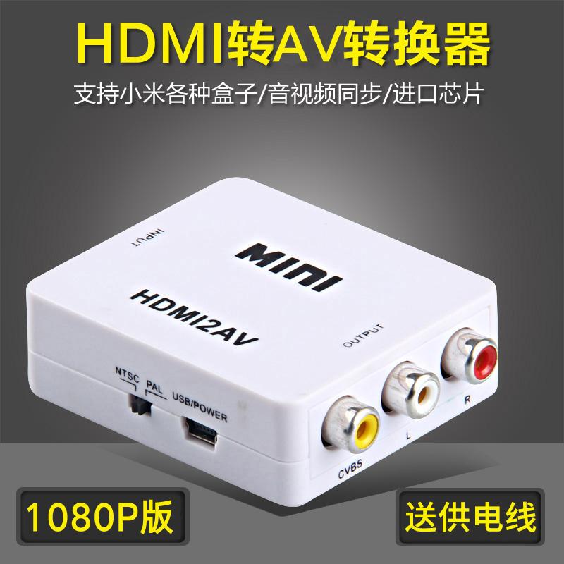korn av hdmi - hd 1080p video - låda gamla tv - färg - linjer.