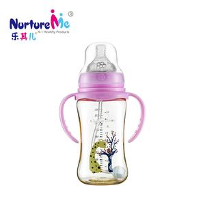 乐其儿宽口径德国巴斯夫PPSU瓶身材质新生儿宝宝婴儿奶瓶原装正品