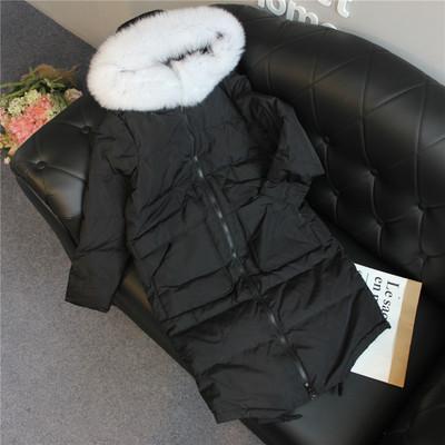 热风2016新款正品代购女士大口袋羽绒服F12W6405