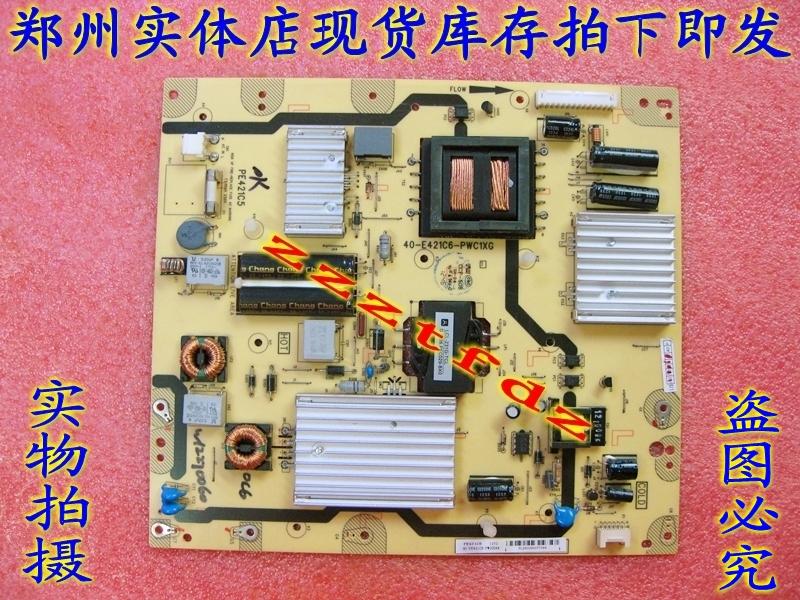 ไปรษณีย์ฟรี LCD TV TCL L46E5500A-3D 81-PE421C6-PL200AA แผงวงจรแผงพลังงาน