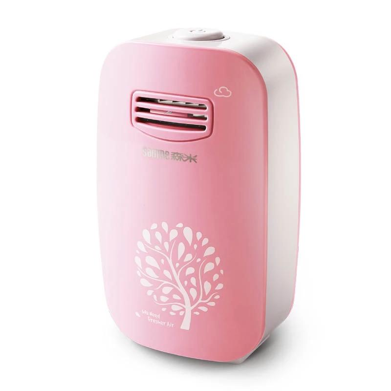 El escritorio de la pequeña casa de habitación mini purificador de aire no consumibles mudo dormitorio interior entre el humo de segunda mano de formaldehído