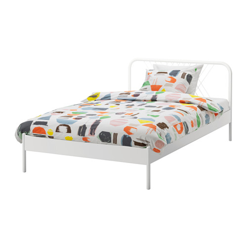 The United States IKEA domestic purchasing rice meal containing 120*200cm single bed bedstead bedplate