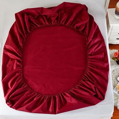 纯色床笠单件网红床垫套1.8m床罩1.2床1.5单人双人席梦思保护罩