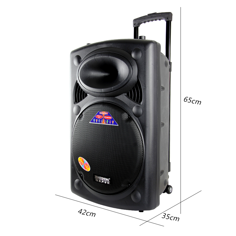 Bel canto 2305S-16 Outdoor - sound - square - dance MIT 15 - Zoll - hochleistungs - Lithium - ionen - batterien bluetooth - lautsprecher.