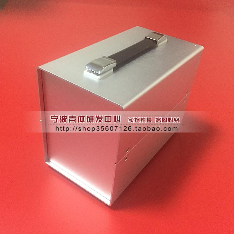 全アルミニウムのケースの電源の外殻の金属の計器の殻の電子制御箱