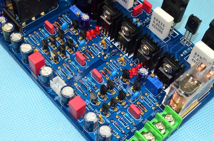 K30 สนามผลทรานซิสเตอร์เครื่องขยายเสียงไฮไฟไข้ระดับแผ่นจานจะถูกทดสอบโดยดี ( สามารถปรับระดับกลุ่ม )