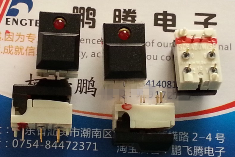 Special German ITT key switch, LED lamp, stage lighting control switch, burner